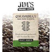 .288 публикаций — посмотрите в instagram фото и видео jim's coffee (@jims_coffee). Amazon Com Jim S Organic Coffee Colombian Santa Marta Single Origin Medium Roast Whole Bean 12 Oz Bag Coffee Pods Grocery Gourmet Food