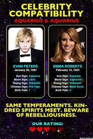 Evan Peters Aquarius Emma Roberts Aquarius