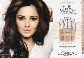 lorealtruematch foundation cherylcole smoir no makeup