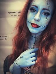 sally from nightmare before makeup trial