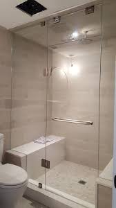 frameless shower doors from suburban glass mirror give a modern and sophisticated look to any bathroom thanks to our skilled glass technicians your