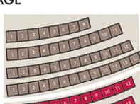 Seating Chart Adler Theatre