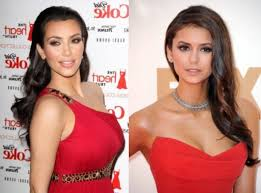 makeup with red dress ideas