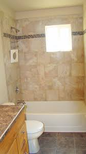bed bath bathroom shower with tile bathtub surrounds and granite