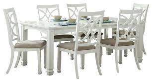 white dining room table. White Dining Set Room Park 7 Piece Extension In Property Table O