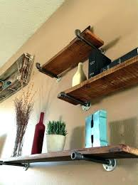 strong floating shelves how to make floating shelves strong floating shelf brackets large size of to
