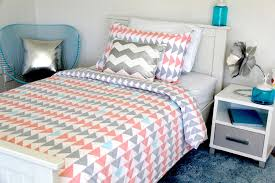 evie dusky pink and grey quilt cover with cushions