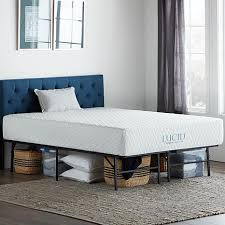Lucid Comfort Collection Platform Cal King Bed Frame