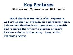 the thesis statement a road map for your essay essay introduction 11 key