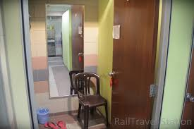 a bin mirror seat and a pair of slippers are provided in each changing room use the slippers to head for the shower remember to lock the door before you ample shower room