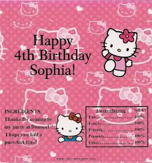 personalized chocolate bar wrappers hello kitty inspired wrapper