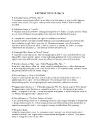 different types of essays essays narrative