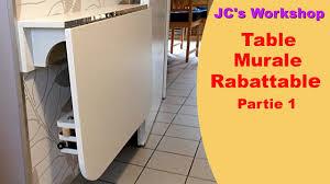 Comment Faire Une Table De Cuisine Murale Rabattable 12 Travail