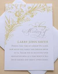 Personalized Sympathy Thank You Cards Pre Printed Sympathy Thank You Cards Thank You Condolence Letter