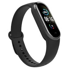 Replacement <b>Strap</b> for Xiaomi <b>Mi Band 5</b> Black