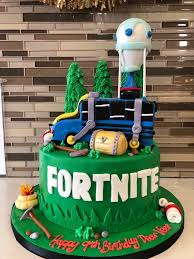 Fortnite Fondant Birthday Cake Rashmis Bakery