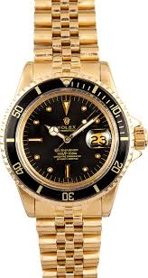 rolex submariner 1680 18k yellow gold 1968 click image above to enlarge