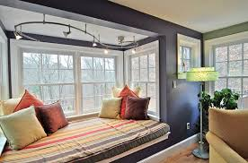 captivating furniture interior decoration window seats. Track Lighting Adds Beauty To The Cozy Window Seat. Design Ideas: Captivating Furniture Interior Decoration Seats
