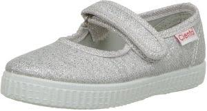 Cienta 56013 Glitter Mary Jane Fashion Sneaker Silver 25 Eu 8 M Us Toddler