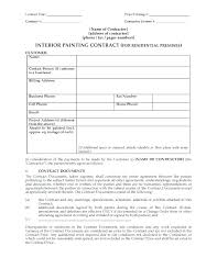 Drywall Contract Forms Basic Template Sales Facile Furthermore ...
