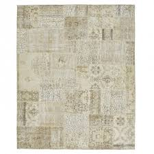 color reform overdyed patchwork rug 8 x10