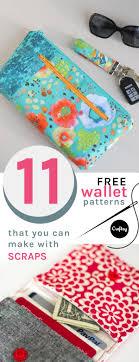 Free Wallet Sewing Pattern Unique Decoration