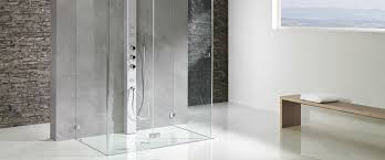 Duscholux Collection 3 Rahmenlose Duschwand Für Ein Offenes Bad