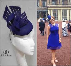 john paul couture buckingham palce hat headpiece for garden party