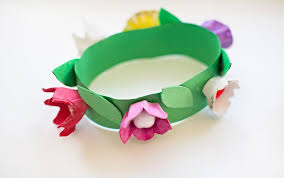 Paper Flower Headbands 15 Easy Paper Flowers Crafts For Toddlers Preschoolers And Bigger Kids