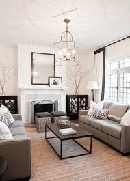 Charming Mid Century Modern Living Room With Taupe Furniture Looks Elegant Awesome Design