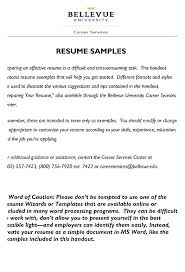 Formats For Resumes Awesome Best Sample Of Resume Sample Resumes Sample Resume For Teachers