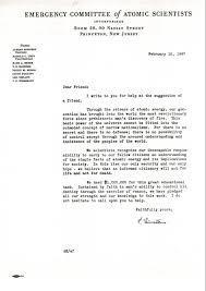 Solicitation Latter Donor Solicitation Letter Written By Albert Einstein On