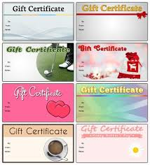 How To Make A Gift Certificate Business Gift Certificate