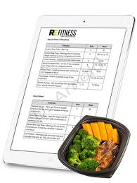 Weekly Meal Plan Magnificent CUSTOM 44WEEK MEAL PLAN NUTRITION ONLY RE Fitness INC