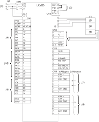 lxm23au04m3x motion servo drive lexium 23 single phase 200 canopen control mode wiring diagram