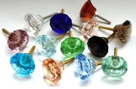 pictures gallery of colored glass door knobs share