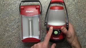 Energizer Led Night Light How To Change Batteries Energizer Weather Ready Folding Area Lantern Review
