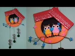 wall hanging craft ideas easy with