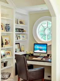 home office built in. Home Office Built Ins. Small Designed With In Shelves And Round Window N