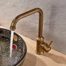 antique brass bathroom faucet. [$45] Basic Style Antique Brass Tall Spout Vessel Bathroom Faucet 015F 4
