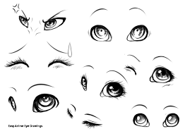 eyes drawings easy anime eye drawings 28 collection of cute eyes drawing prslide com