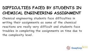 chemical engineering assignment help  computational fluid dynamics 10 difficulties faced by students in chemical engineering assignment