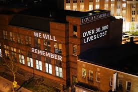 The coronavirus pandemic and its victims have caused me to. An Artist Is Projecting Giant Memorials To Covid 19 Victims On Walls All Over Dc Washingtonian