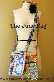 The June Bag, a Cross Body Bag Sewing Pattern   Purse patterns ... & The June Bag, a Cross Body Bag Sewing Pattern Adamdwight.com