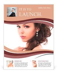 Jewelry Flyer Portrait Of Beautiful Young Fashion Sexy Bride Isolated On White Background Jewelry And Luxury We Flyer Template