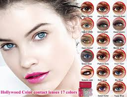 Hollywood Color Contact Lenses Ship 24 Hours 17 Colors Pair 1 Bestseller
