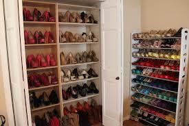 diy closet organization shoes
