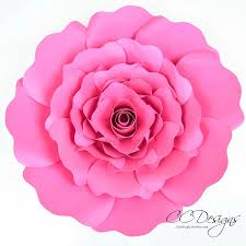 Giant Paper Flower Template Pdf 003 Paper Rose Template Pdf Ideas Penelope 41255 Shocking
