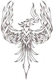Drawings Of Phoenix 14 Ice Drawing Phoenix For Free Download On Ayoqq Org