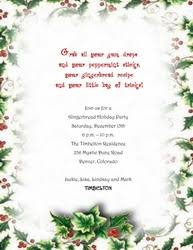 free christmas dinner invitations christmas free suggested wording by holiday geographics